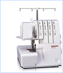 Bernina 800DL - Overlockmachines Fournitura Amsterdam
